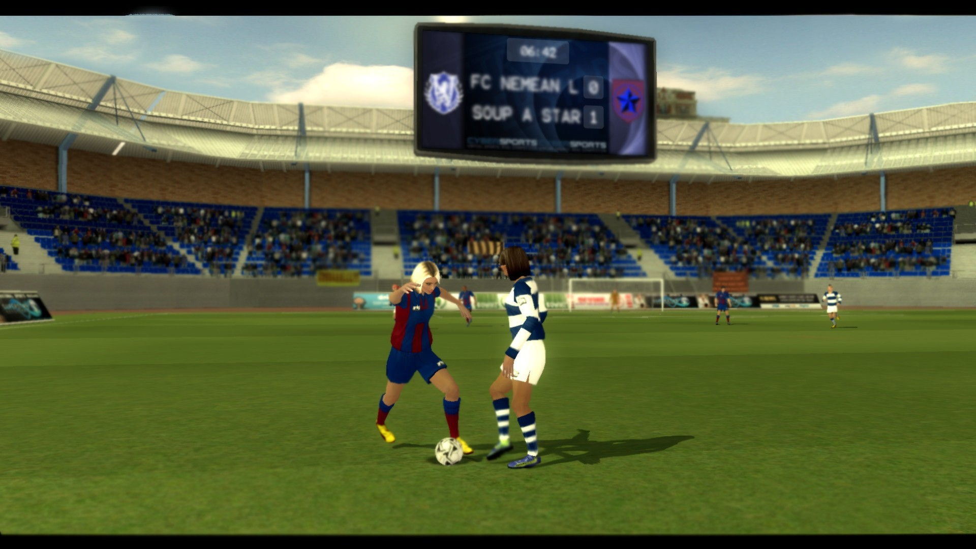 Football Superstars Review - Virtual Sport, Real Competition