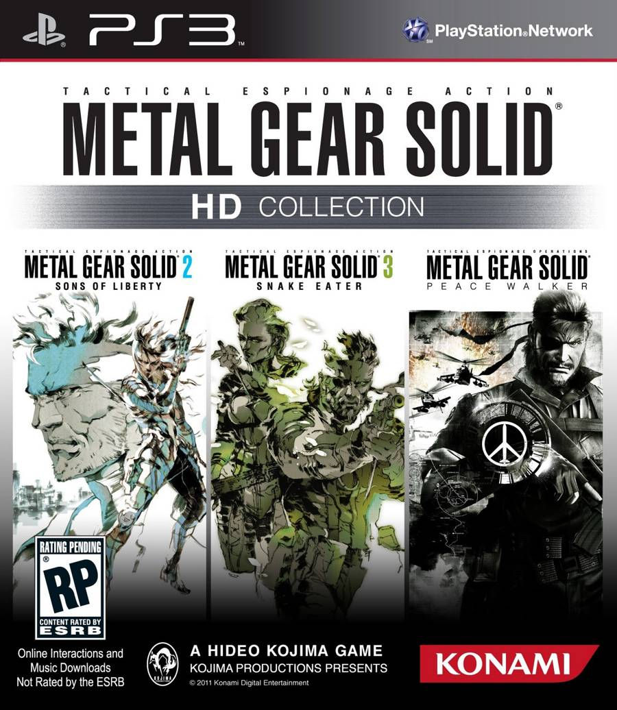 Rumor: MGS HD Trilogy Incoming?