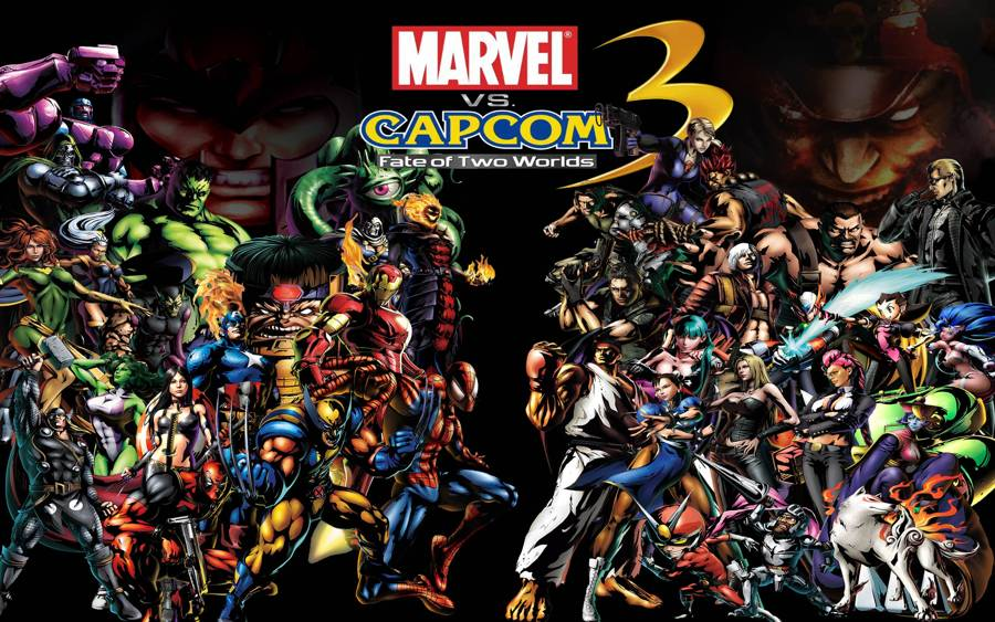 Marvel VS Capcom Adds Two Fighters