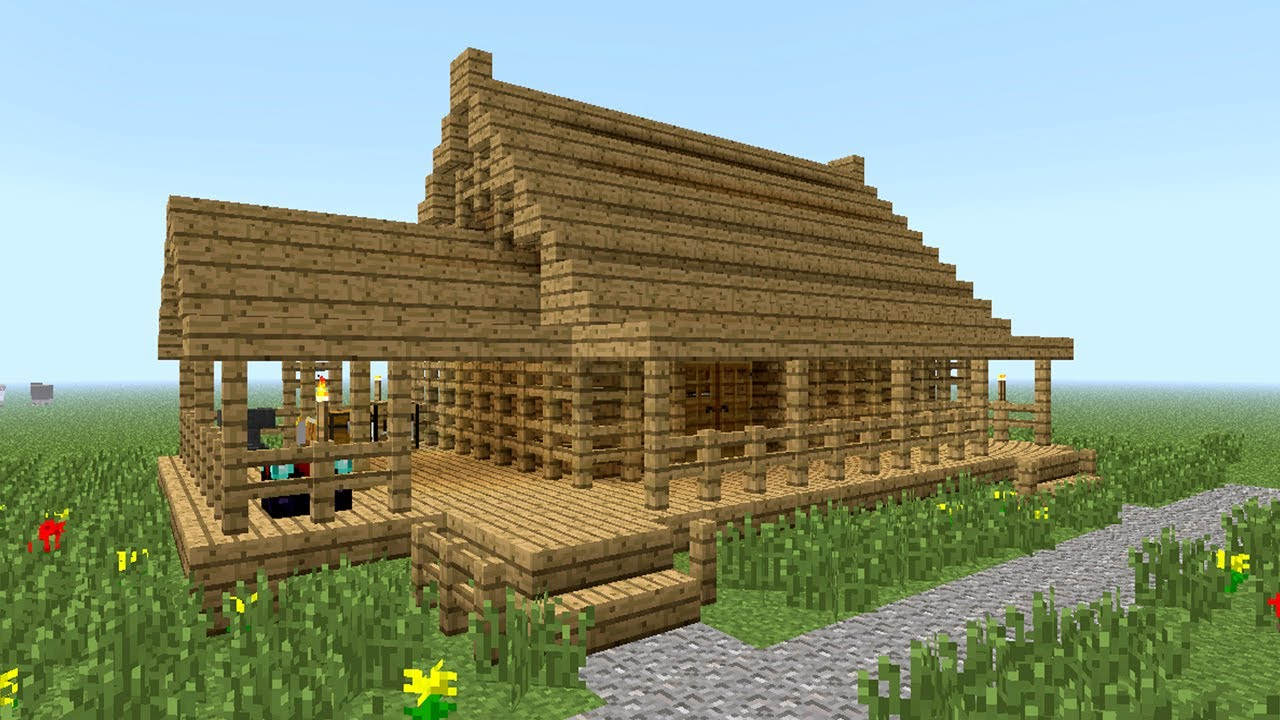 Minecraft House Guide Perfect Safe House