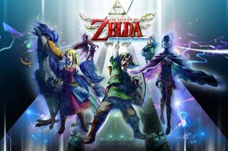 The Legend Of Zelda Skyward Sword Winning The Wing Ceremony