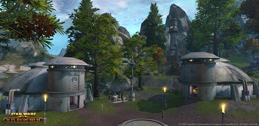 Star Wars: The Old Republic Datacron Locations - Tython