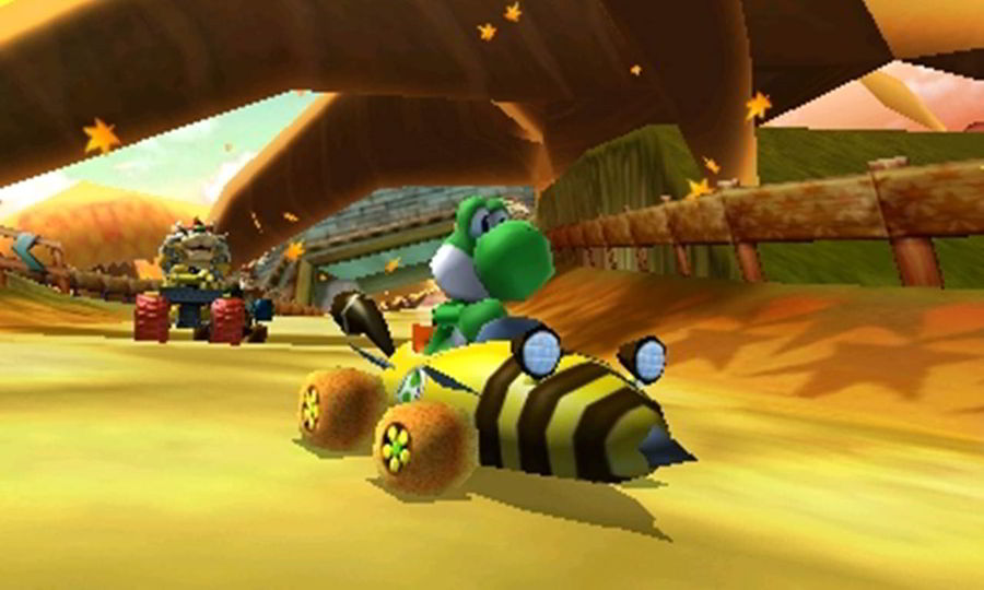 mario kart 7 3ds review. Black Bedroom Furniture Sets. Home Design Ideas