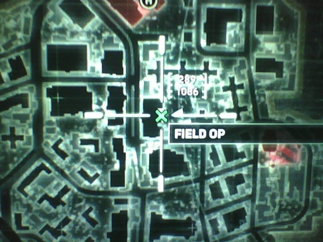 Prototype 2 Fairview Field Ops Locations on