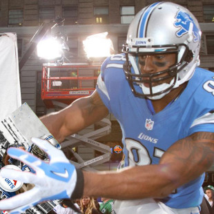 "Calvin ""Megatron"" Johnson Grabs the Madden '13 Cover"