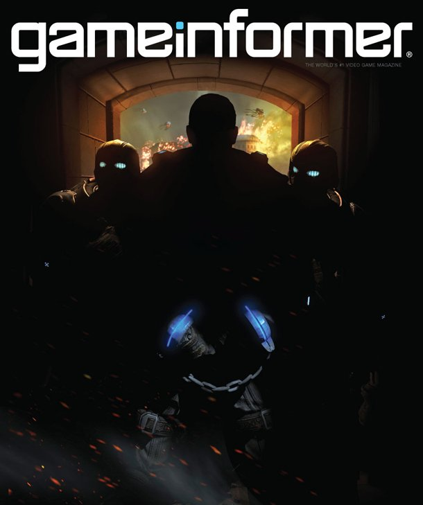 Game Informer cover for new Gears game.