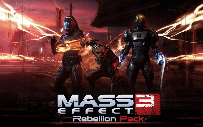 Mass Effect 3 Rebellion pack wallpaper