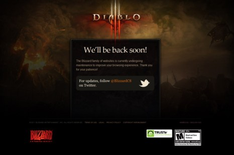 Diablo III Launches: Servers Did Not