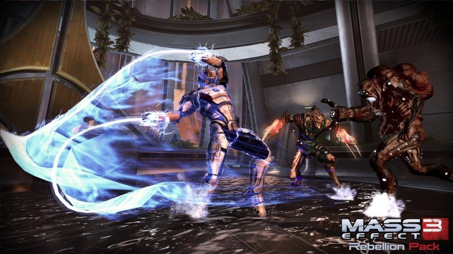 Mass Effect 3 lash attack