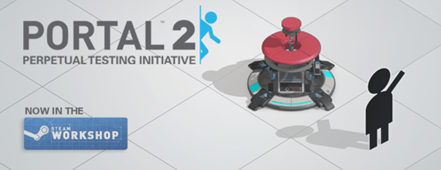 portal 2 sale on steam includes perpetual testing