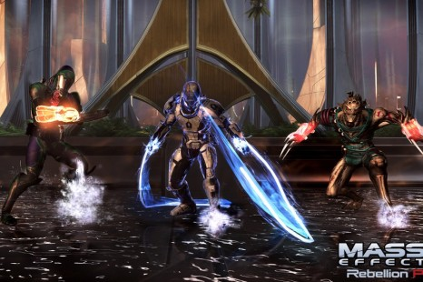 Mass Effect 3 Rebellion Pack Release Info