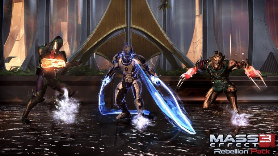 New Characters and new map in Mass Effect 3 DLC