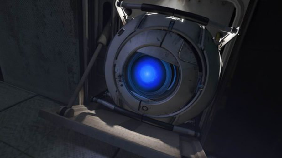 Picture of Wheatley from Portal 2