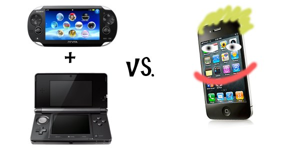 3ds and vita image vs trolling iphone