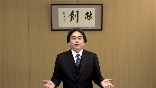 Iwata at E3 2012