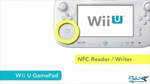 NFC reader for the Wii U