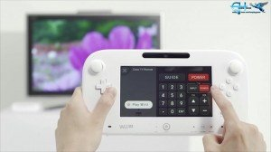 TV remote demo for the Wii U