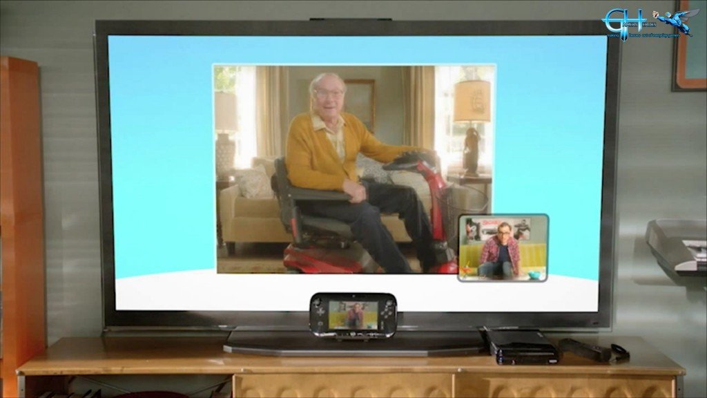 Video chat across Wii U