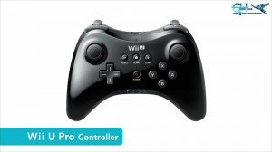 Pro controller for the Wii U