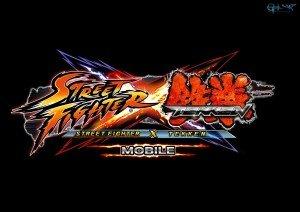 Mobile game of street fighter x tekken