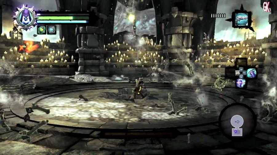 Darksiders 2 Bone Giant Boss Fight Guide