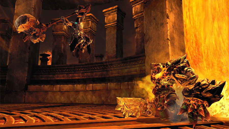 Darksiders 2 Ghorn Boss Fight Guide