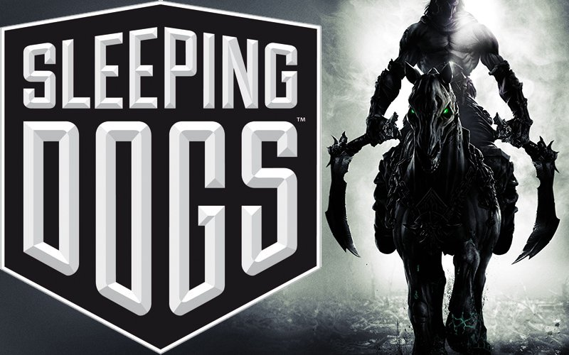 Darksiders II and Sleeping Dogs Logo