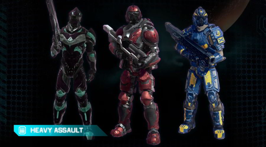 PlanetSide 2 Classes