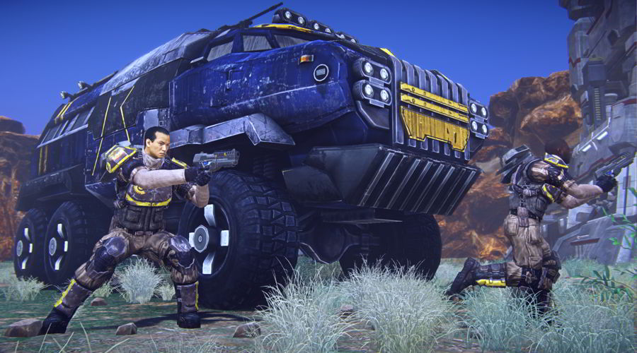 PlanetSide 2 Vehicles
