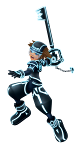 Tron-Suit-Sora-Kingdom-Hearts-3D-Character-Art-162x300