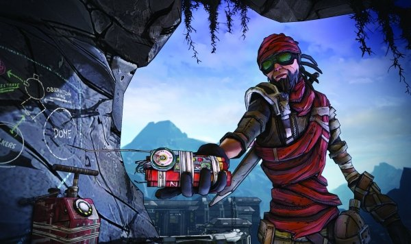 Borderlands 2 Mordecai
