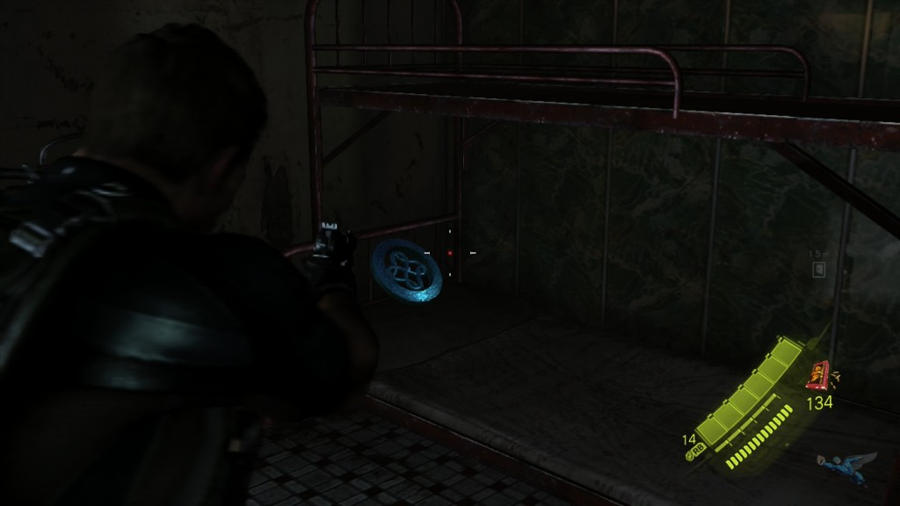 Resident Evil 6 Guide Chris Chapter 3 Serpent Emblem Location Guide 2
