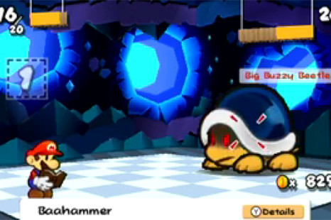 Paper Mario Sticker Star Guide: Big Buzzy Beetle Boss Guide