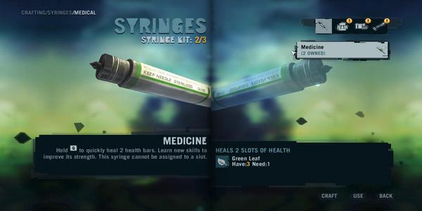 Far Cry 3 Syringes