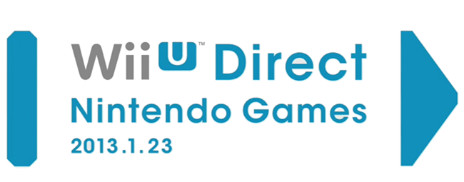 Wii U Direct Nintendo Games Header