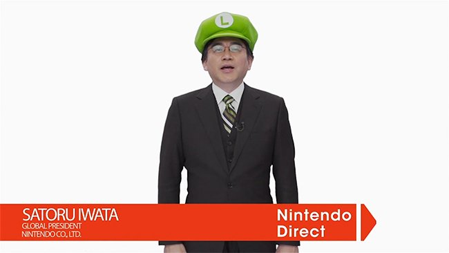 Iwata Nintendo Direct Valentines Day