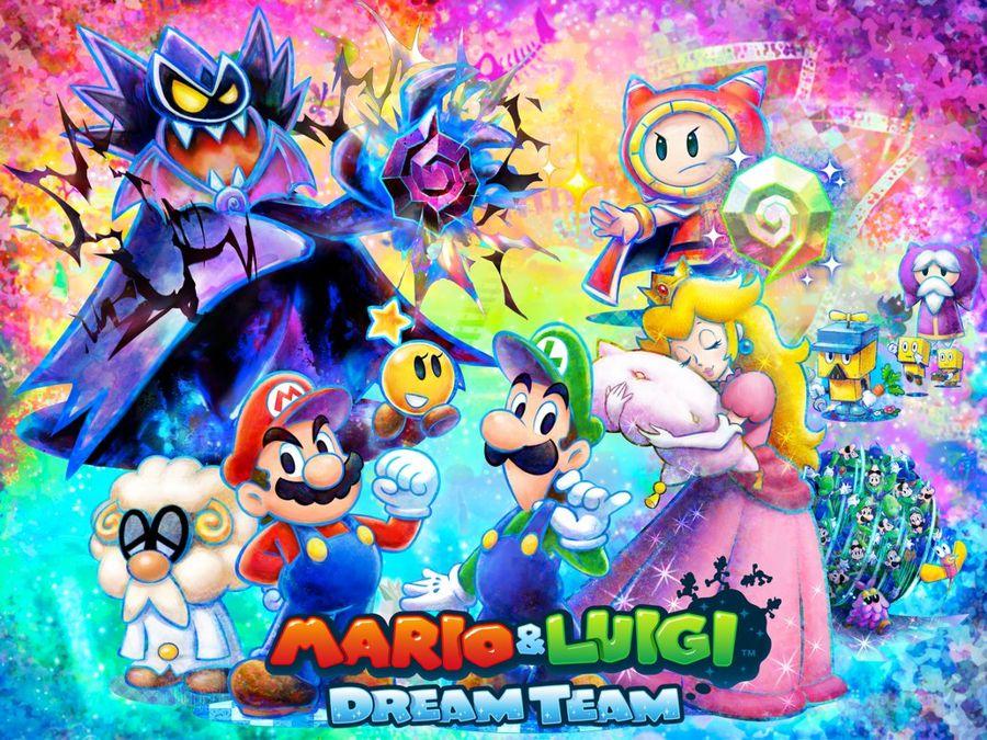 Mario & Luigi Dream Team News