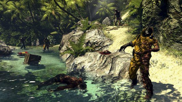 Dead Island river Zombie