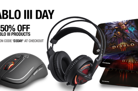 Diablo III SteelSeries 50% Off Sale