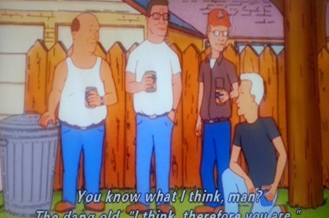 King of the Hill has a Game, I Tell You What