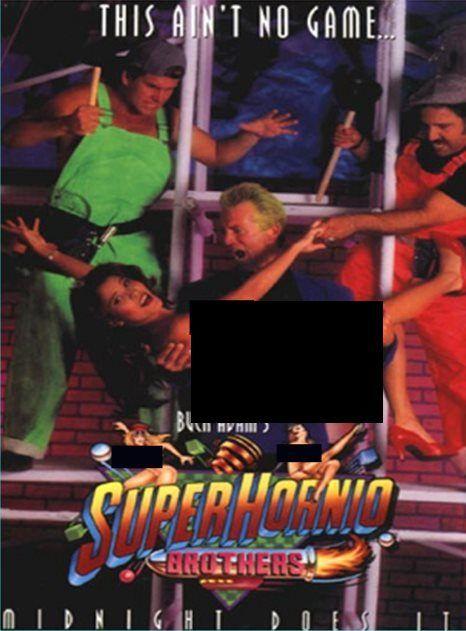 The 10 Goofiest Video Game Pron Parodies Super Hornio Brothers