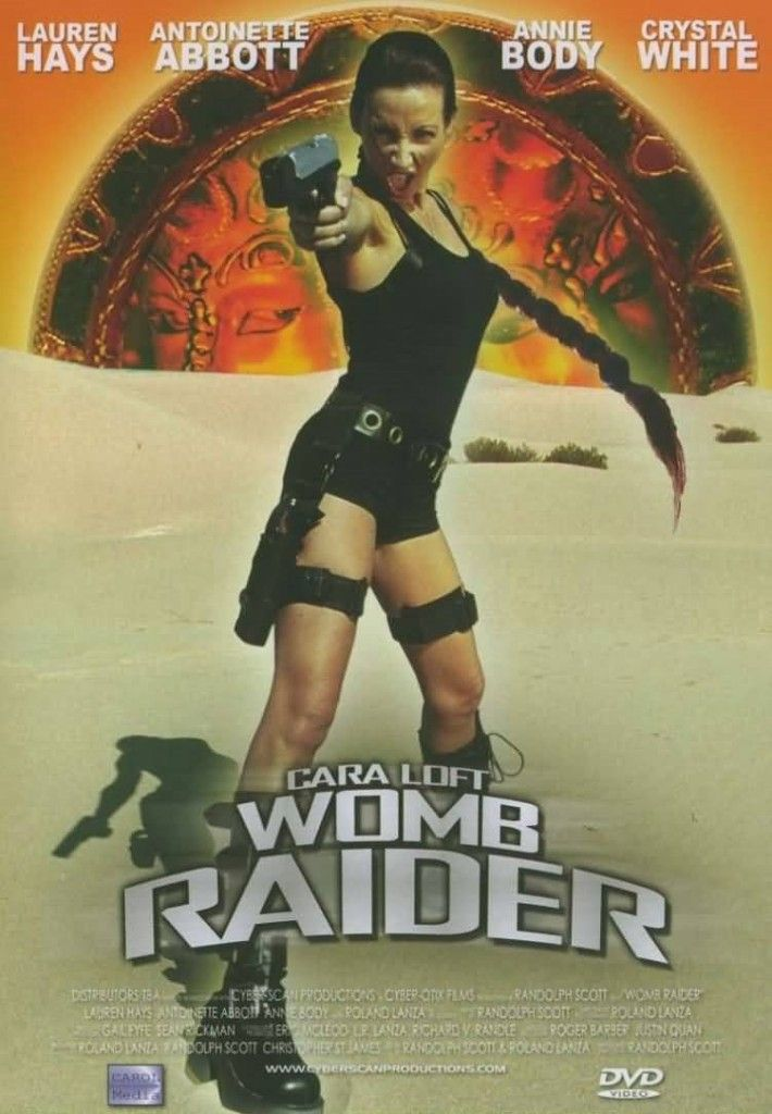 The 10 Goofiest Video Game Pron Parodies Womb Raider
