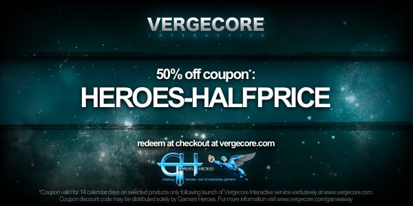 VergeCore Giveaway Discount Code