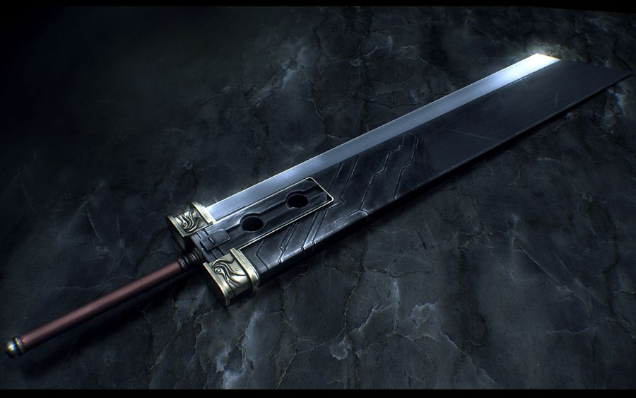 Top 5 Weapons In Final Fantasy - Buster Sword