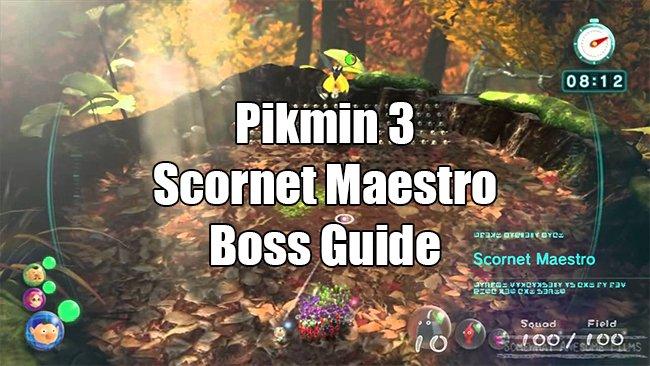 scornet maestro boss guide