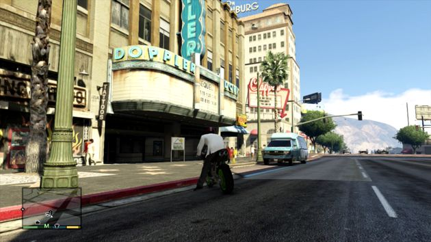 Grand Theft Auto V Business - Cinema Doppler