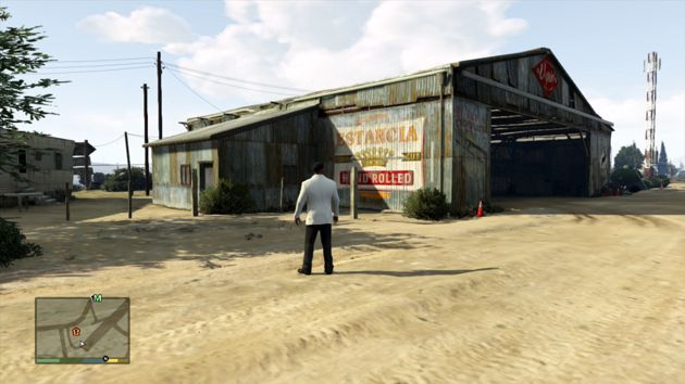 Grand Theft Auto V Business - Mckenzie Field Hangar