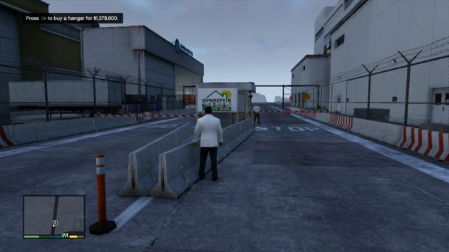 Grand Theft Auto V Business - Private Hangar