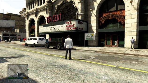 GTA V Business: Ten Cent Theater