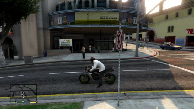Grand Theft Auto V Business - Tivoli Cinema